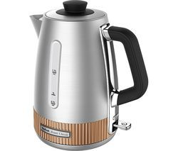 TEFAL Avanti Classic KI290F40 Traditional Kettle - Silver & Copper Best Price, Cheapest Prices