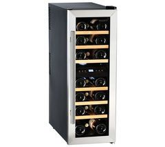 HUSKY HUS-CN215 Drinks & Wine Cooler - Black & Silver Best Price, Cheapest Prices