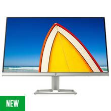 HP 24f 23.8 Inch FHD Ultraslim IPS Monitor - Silver/Black Best Price, Cheapest Prices