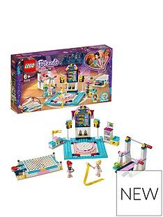 LEGO Friends 41762 Stephanie's Gymnastics Show Set  Best Price, Cheapest Prices