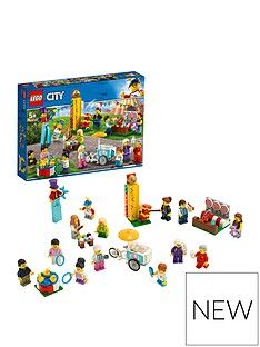 LEGO City 60234 People Pack – Fun Fair with 14 Minifigures Best Price, Cheapest Prices