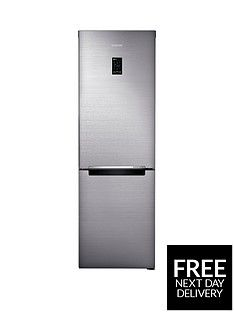 Samsung Rb33N321Nss/Eu 60Cm Wide, No Frost Fridge Freezer With Digital Inverter Technology - Silver Best Price, Cheapest Prices