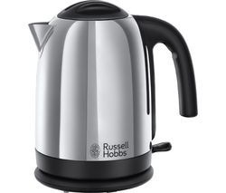 RUSSELL HOBBS Cambridge Polished Steel 20071 Jug Kettle - Polished Stainless Steel Best Price, Cheapest Prices