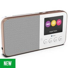 Pure Move T4 Rechargeable DAB Radio - White