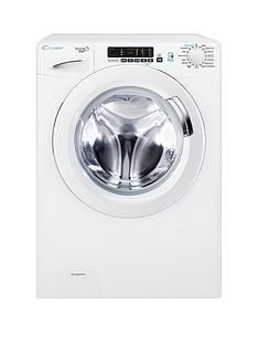 Candy Grand'OVitaGVS169D3 9kgLoad, 1600 Spin Washing Machine with Smart Touch- White Best Price, Cheapest Prices
