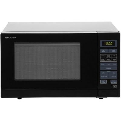 Sharp R372KM 25 Litre Microwave - Black Best Price, Cheapest Prices