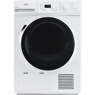 Belling BELFHD800 8Kg Heat Pump Tumble Dryer - White - A++ Rated Best Price, Cheapest Prices