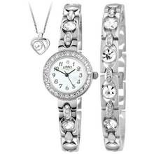 Limit Ladies' Silver Bracelet, Pendant and Watch Set Best Price, Cheapest Prices