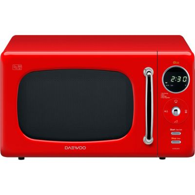 Daewoo KOR9LBKRR 20 Litre Microwave - Red Best Price, Cheapest Prices