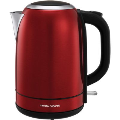 Morphy Richards Equip 102782 Kettle - Red Best Price, Cheapest Prices