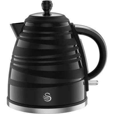 Swan Symphony SK31050BN Kettle - Black Best Price, Cheapest Prices