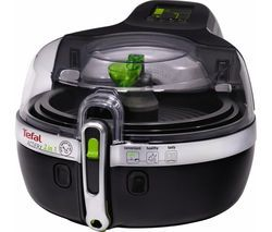 TEFAL YV960140 ActiFry 2in1 Fryer - Black Best Price, Cheapest Prices