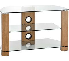 TTAP Vision 600 TV Stand - Light Oak Best Price, Cheapest Prices