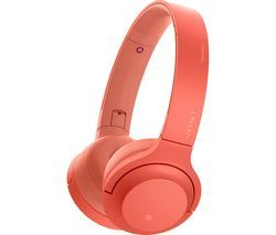 SONY h.ear Series WH-H800 Wireless Bluetooth Headphones - Red Best Price, Cheapest Prices