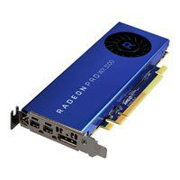 4GB AMD Radeon Pro WX 3100, PCIe 3.0, 6000MHz GDDR5, 1219MHz Boost, 512 Streams, 1.25TFLOPS sP, 78.02GFLOPS dP, DP/2xmDP Best Price, Cheapest Prices