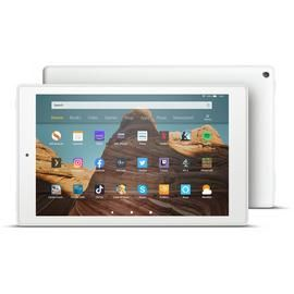 Amazon Fire 10 HD 10.1in 32GB Tablet - White Best Price, Cheapest Prices