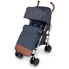 Ickle Bubba Discovery Max Stroller - Blue on Silver Best Price, Cheapest Prices