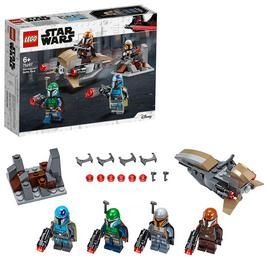LEGO Star Wars Mandalorian Battle Pack Building Set - 75267 Best Price, Cheapest Prices