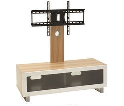 TTAP TVS1001 TV Stand with Bracket - Light Oak Best Price, Cheapest Prices
