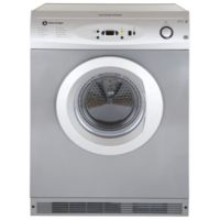 White Knight C86A7S 7kg Freestanding Vented Tumble Dryer - Silver Best Price, Cheapest Prices