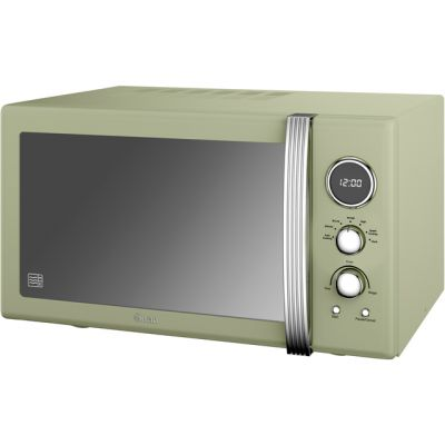 Swan Retro SM22085GN 25 Litre Microwave - Green Best Price, Cheapest Prices