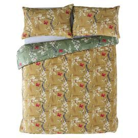 Angel Strawbridge Ochre Blossom Bedding Set - Double Best Price, Cheapest Prices