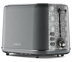 KENWOOD The Abbey Collection TC05.GY 2-Slice Toaster - Slate Best Price, Cheapest Prices
