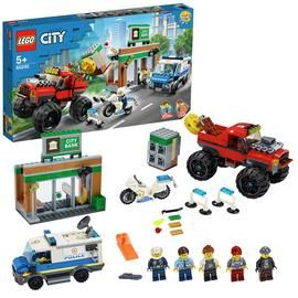 LEGO City Police Monster Truck Heist Building Set - 60245 Best Price, Cheapest Prices
