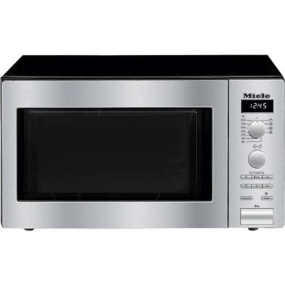 Miele M6012 26 Litre Microwave With Grill - Clean Steel Best Price, Cheapest Prices