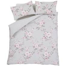 Catherine Lansfield Canterbury Floral Bedding Set - Double Best Price, Cheapest Prices
