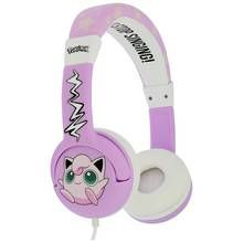Pokemon Jiggly Puff Childrens Headphones - Pink Best Price, Cheapest Prices