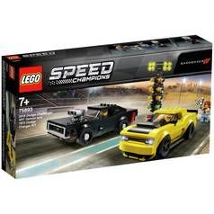 LEGO Speed Champions Dodge Toy Car Race Set - 75893 Best Price, Cheapest Prices
