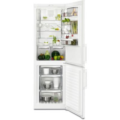 AEG RCB53325VW 60/40 Frost Free Fridge Freezer - White - A++ Rated Best Price, Cheapest Prices