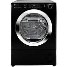 Candy GVS H9A2DCEB 9KG Heat Pump Tumble Dryer - Black Best Price, Cheapest Prices