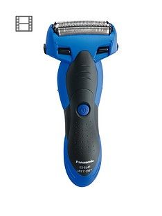 Panasonic Es-Sl41-A511 Cordless Milano 3-Blade, Wet And Dry Shaver, With Arc Foil - Blue Best Price, Cheapest Prices