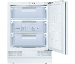 BOSCH GUD15A50GB Integrated Undercounter Freezer Best Price, Cheapest Prices