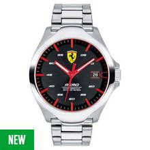 Scuderia Ferrari Men's Aero Silver Stainless Steel Watch Best Price, Cheapest Prices