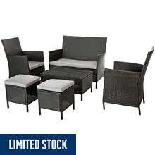 Argos Home New High Back 6 Seater Sofa Set Best Price, Cheapest Prices