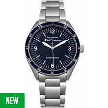 Ben Sherman Men's Stainless Steel Bracelet 3-Link Watch Best Price, Cheapest Prices