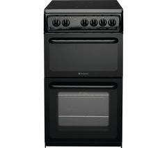 HOTPOINT Concept HAE51KS Electric Ceramic Cooker - Black Best Price, Cheapest Prices