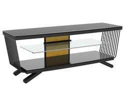 AVF Flow 1250 TV Stand - Black Best Price, Cheapest Prices