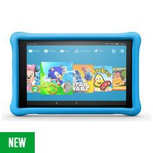 Amazon Fire HD 10 10.1 Inch 32GB Kids Edition Tablet - Blue
