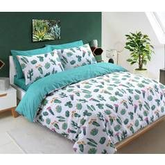 Argos Home Tropical Cactus Bedding Set - Double Best Price, Cheapest Prices