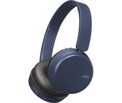 JVC HA-S35BT-A-U Wireless Bluetooth Headphones - Blue Best Price, Cheapest Prices