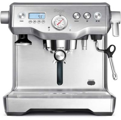 Sage The Dual Boiler BES920UK Espresso Coffee Machine - Stainless Steel Best Price, Cheapest Prices