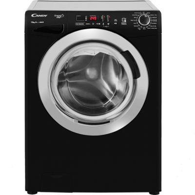 Candy Grand'O Vita GVS1410DC3B 10Kg Washing Machine with 1400 rpm - Black - A+++ Rated Best Price, Cheapest Prices