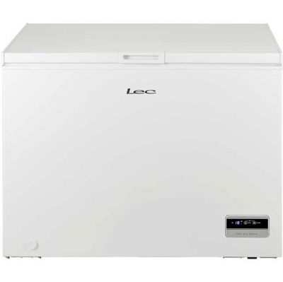 Lec CF300LMk2 Chest Freezer - White - A+ Rated Best Price, Cheapest Prices
