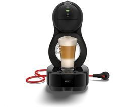 DOLCE GUSTO by Krups Lumio KP130840 Coffee Machine - Black Best Price, Cheapest Prices