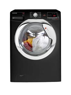 Hoover Dynamic Next DXOA610HCB 10kg Load, 1600 Spin Washing Machine with One Touch - Black/Chrome Best Price, Cheapest Prices