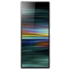 SIM Free Sony Xperia 10 Plus 64GB Mobile Phone - Silver Best Price, Cheapest Prices